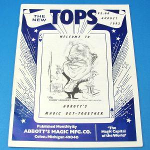 The New Tops Magazine (Aug 1992 Terry Herbert)