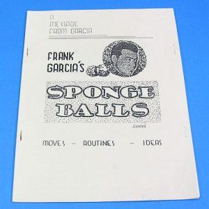 Frank Garcia's Sponge Balls Manuscript