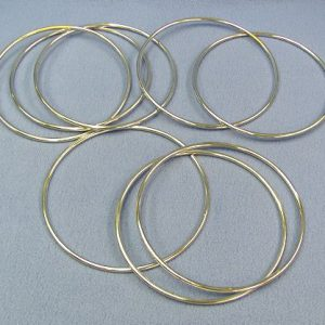 Linking Rings - 8 Inch Chrome